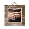 #131 Metal Print on Grey-washed Plaque