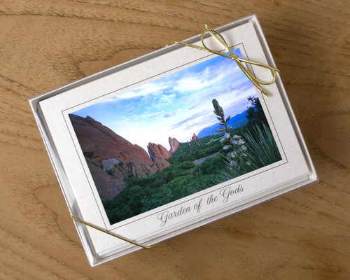 Garden of the Gods Card Set of 8