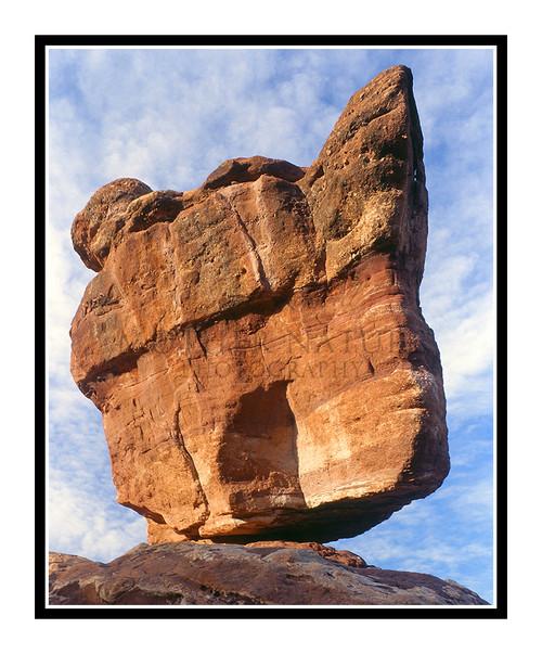 Balanced Rock in Garden of the Gods in Colorado Springs, Colorado 266