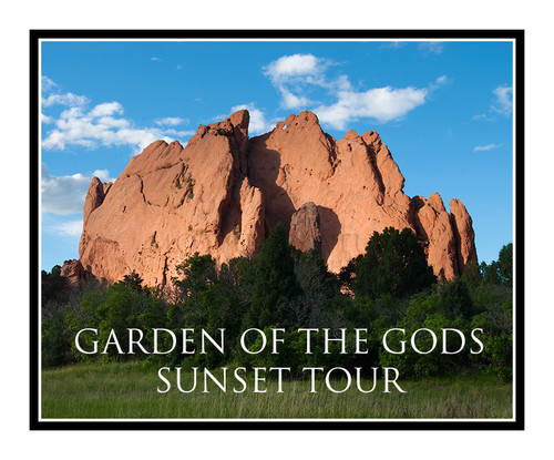 Tour - Garden of the Gods Sunset Tour