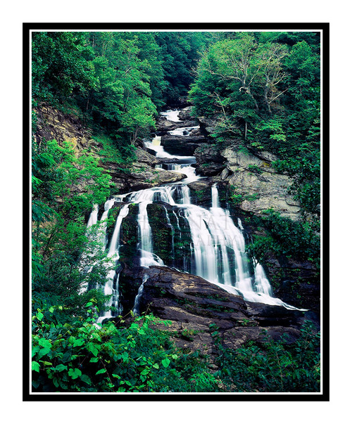Smokey Mountain Waterfall, North Carolina 113