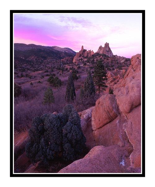 South Face of Garden of the Gods in Colorado Springs, Colorado 132