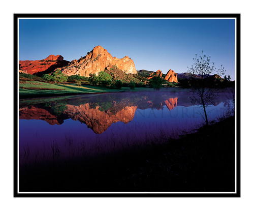 Garden of the Gods Reflection, Colorado 42