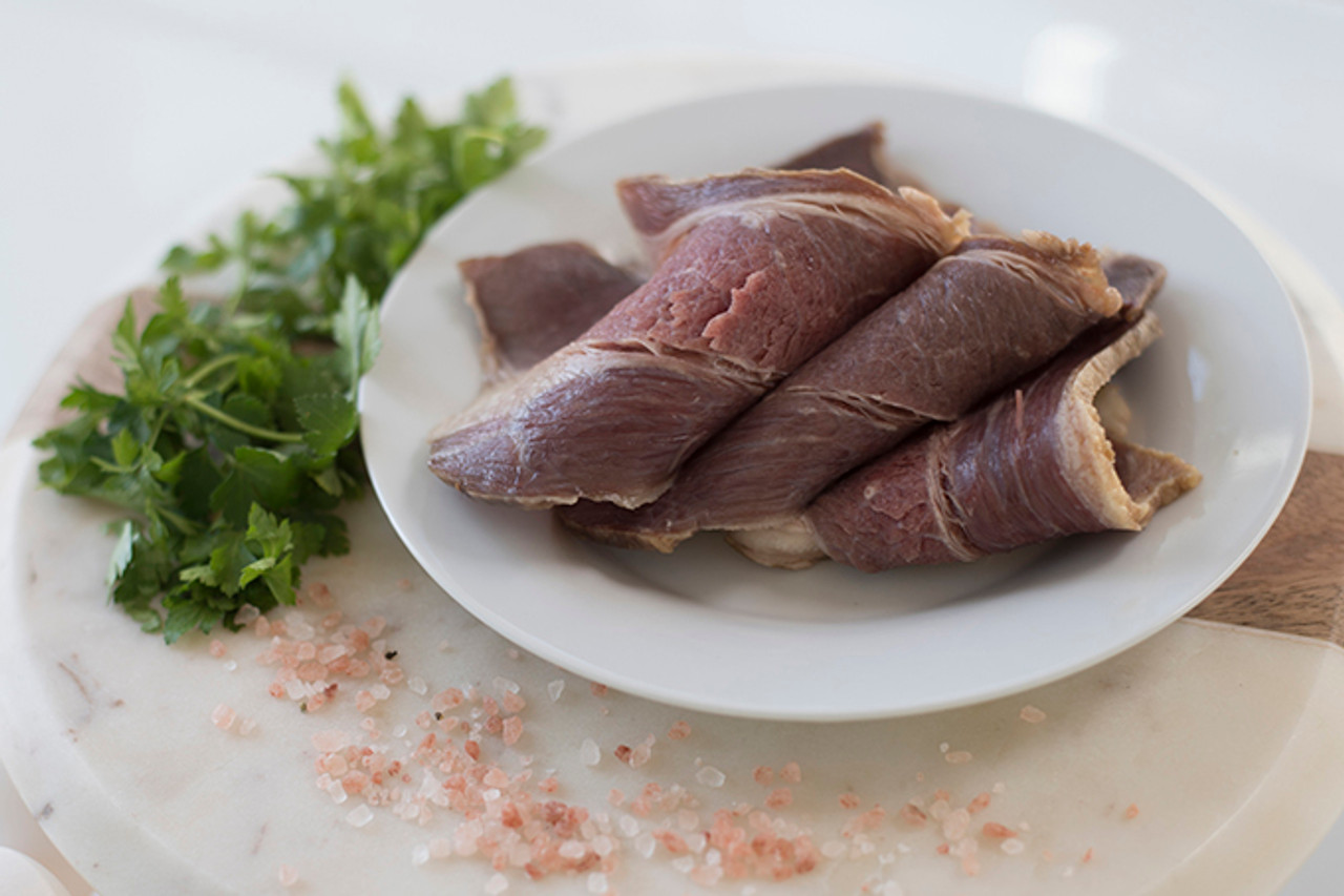 Raw Beef Strips