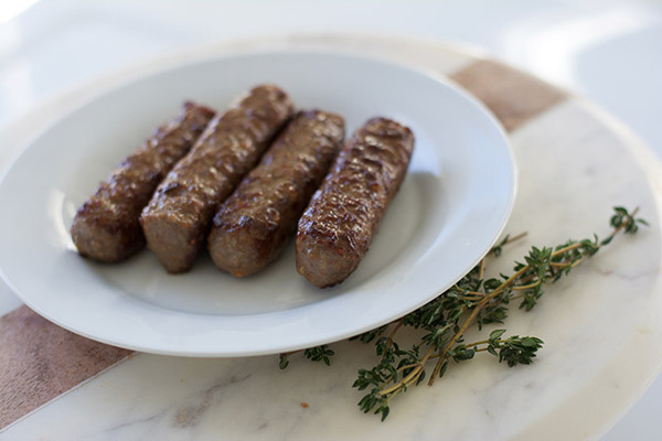 Organic Beef Brisket Sausage