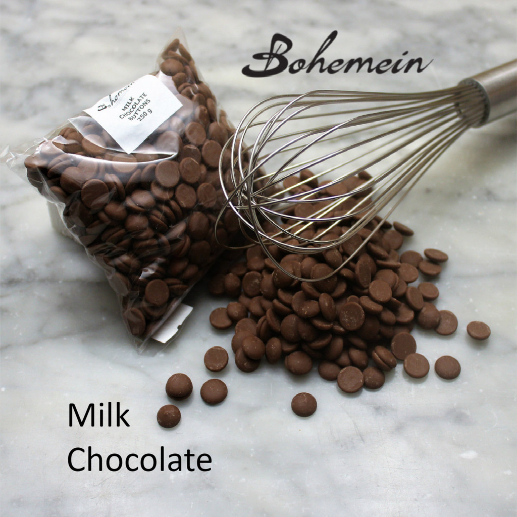 Milk Chocolate Buttons 250 Grams