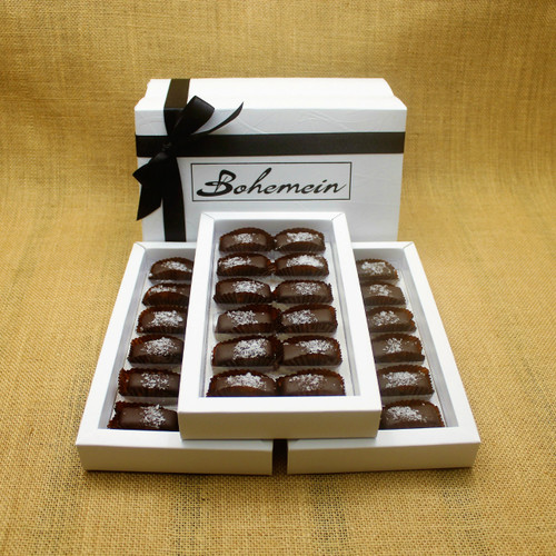 Bohemein 36 chocolate gift Box with 36 Award Winning Sea Salt Caramels.