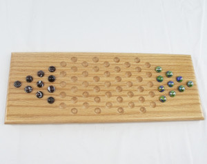 2 Player Chinese Checkers - Oak