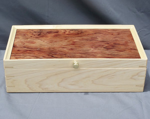 Maple and Bubinga keepsake box