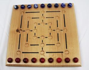 Nine Man Morris Game - Alder