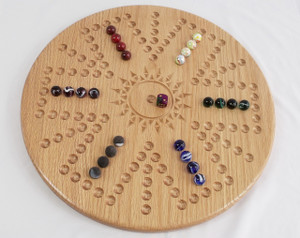 Aggravation/Wahoo 6 Player Variation 3 in Oak