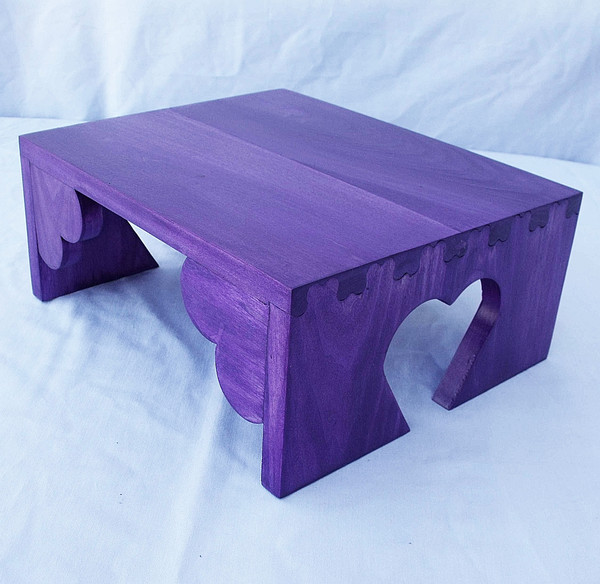 Child's Size Heart Stool