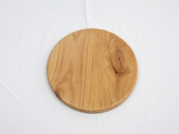 Large Round Marble Solitaire - Alder
