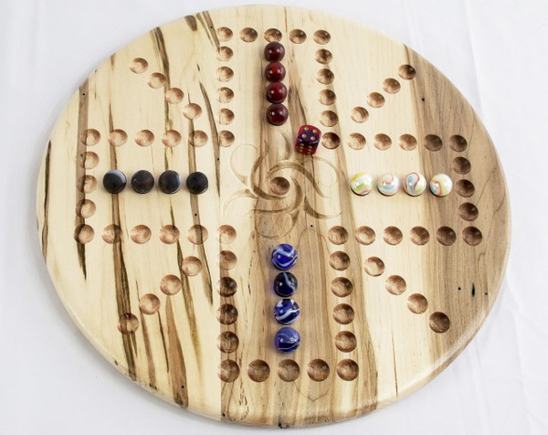 Aggravation/Wahoo 4 Player Variation 2 in Ambrosia Maple