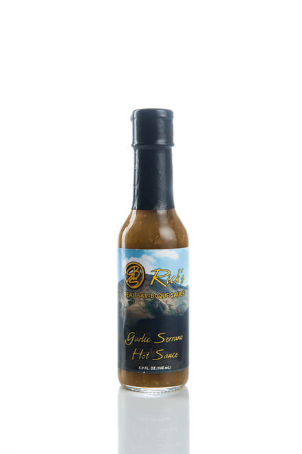 Garlic Serrano Hot Sauce