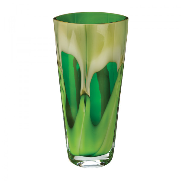 Evolution By Waterford Peridot Whisper 13in Vase
