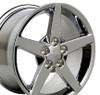 """17"""" Fits Chevrolet - Corvette C6 Wheel - Chrome 17x9.5"""