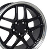 "18"" Fits Chevrolet - Corvette C5 Z06 Wheel - Black 18x10.5"