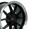 "18"" Fits Ford - Mustang FR500 Wheel - Black 18x9"