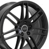"18"" Fits Audi - RS4 Wheel - Black 18x8"