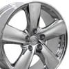 "18"" Fits Lexus - LS 460 Wheel - Chrome 18x8"