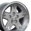 "15"" Fits Jeep - Wrangler Wheel - Silver 15x8"