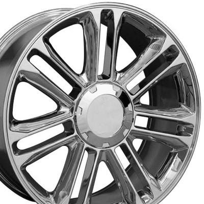 """20"""" Fits Cadillac - Escalade Replica Wheel - Chrome 20x9"""