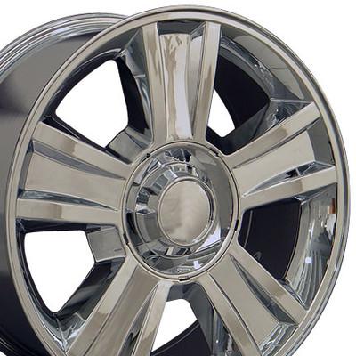 "20"" Fits GMC - Tahoe Wheel - Chrome 20x8.5"