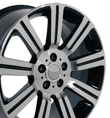 "20"" Fits Land Rover - Range Rover Wheel - Black 20x9.5"