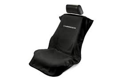 Charger Black Car Seat Cover Towel Armour