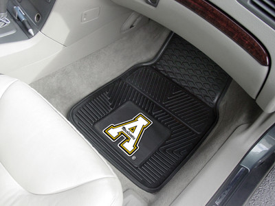 Appalachian State Mountaineers 2-pc Heavy Duty Vinyl Car Floor Mat