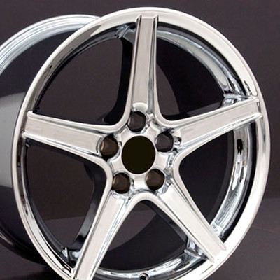 "18"" Fits Ford - Mustang Saleen Wheel - Chrome 18x9"