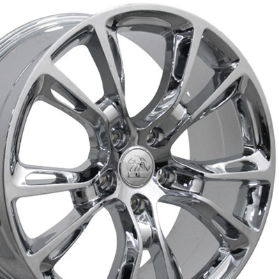 "20"" Fits Jeep - Grand Cherokee SRT8 Wheel - Chrome 20x8.5"