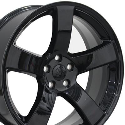 "20"" Fits Dodge - Charger Wheel - Black 20x8"