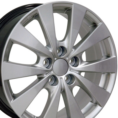 "17"" Fits Toyota - Avalon Wheel - Hyper Silver 17x7"