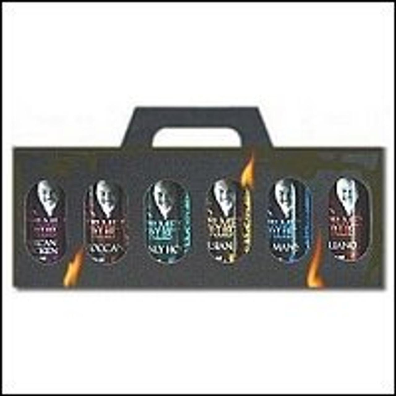 BBQ Gourmet Rubs - Six-pack in Giftbox