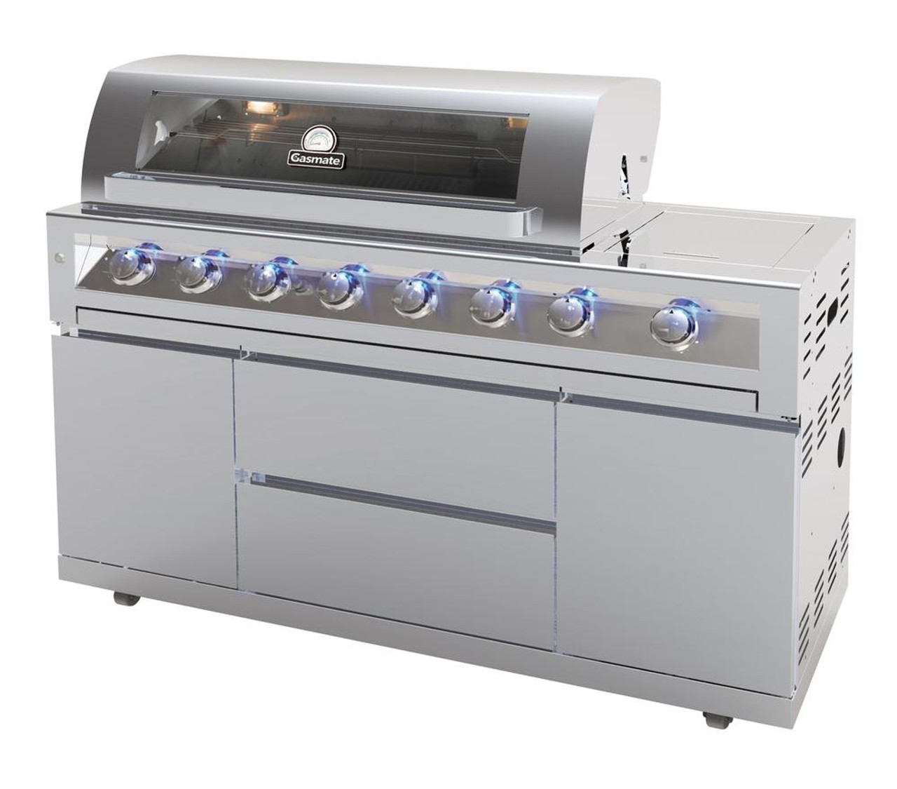 Gasmate Galaxy 6 Burner Stainless Steel Gas Grill