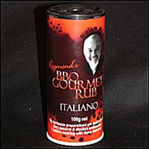 BBQ Gourmet Italiano Rub - 100g shaker
