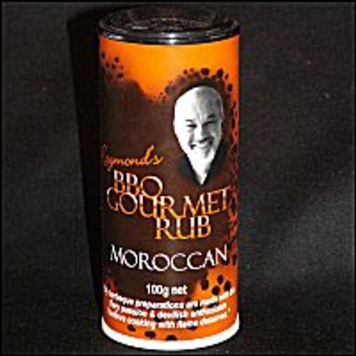 BBQ Gourmet Moroccan Rub - 100g shaker