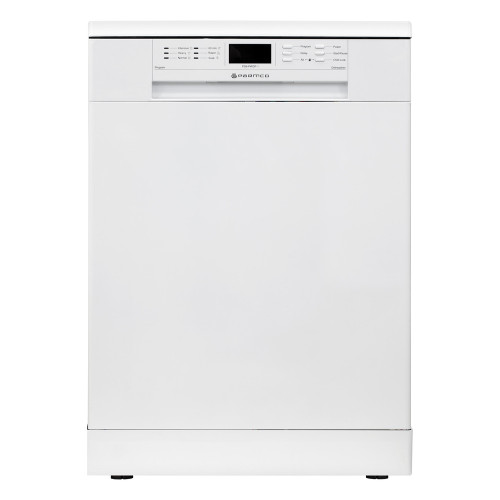 Parmco 600mm Freestanding White Dishwasher, Digital Display