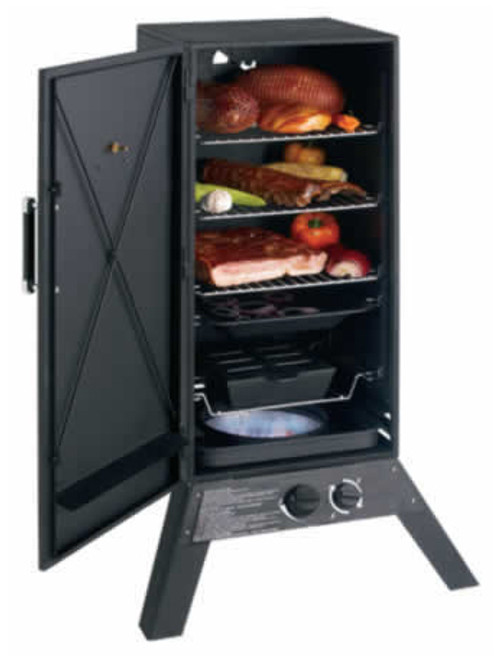 Grill Pro Vertical propane smoker