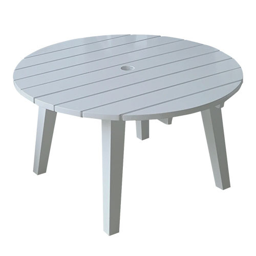 Antique Grey Cape Cod Style Round Table