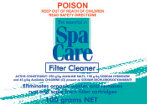 Spa Care Filter Cleaner 100g