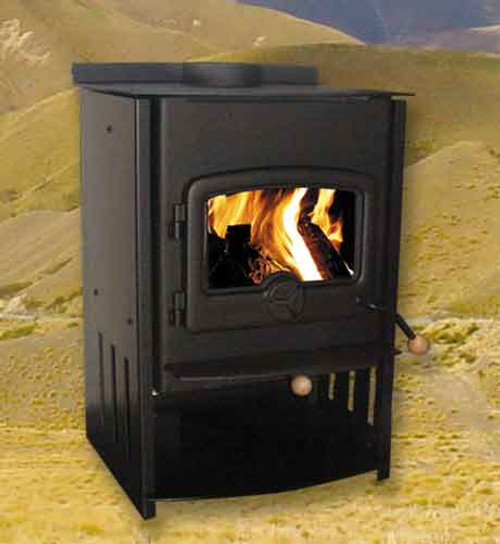 Warmington Lewis freestanding wood burner