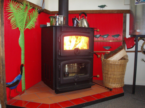 Warmington Cardrona cooker freestanding wood burner