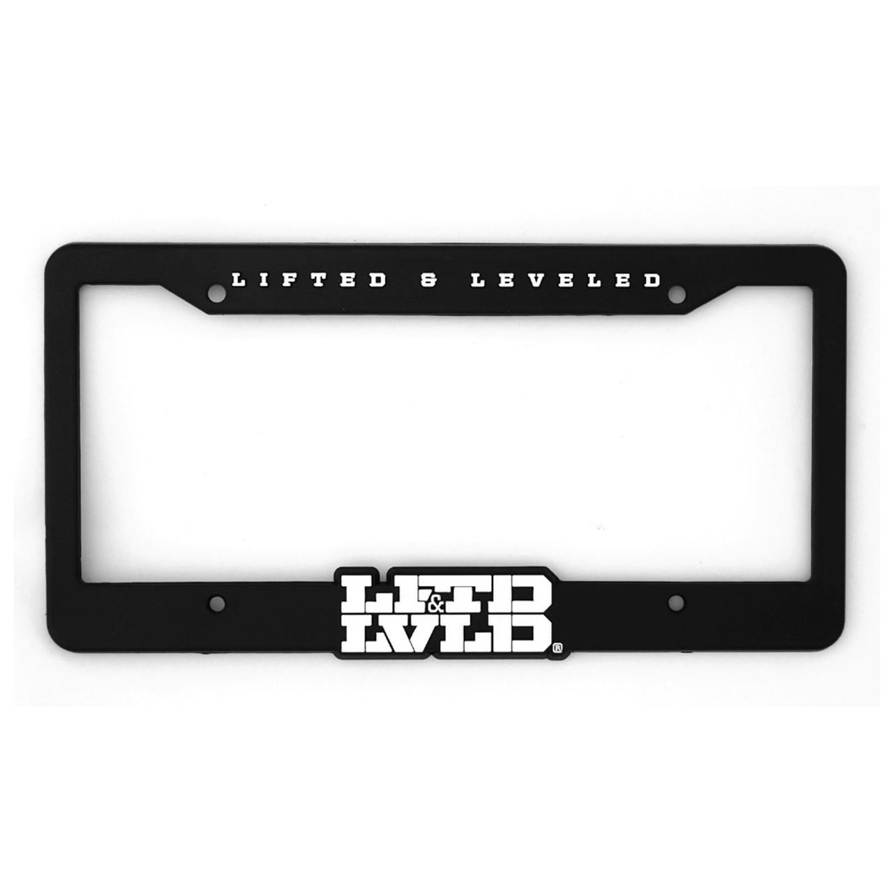 LFTD & LVLD Black License Plate Frame - DUB Shop