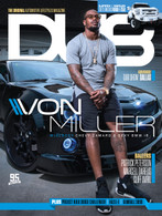 DUB Magazine Issue 95 cover featuring Von Miller.