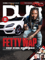 DUB Magazine Issue 100 : Fetty Wap Cover
