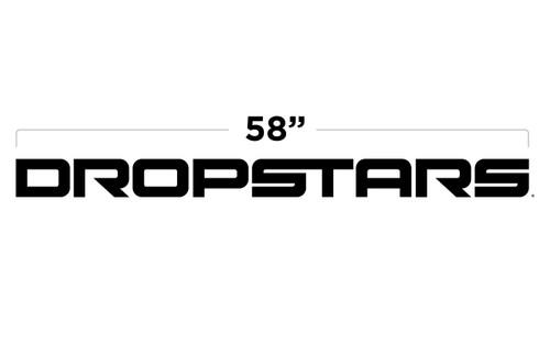 """58"""" Dropstars Door Decal"""
