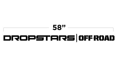 """58"""" Dropstars Off Road Door Decal"""